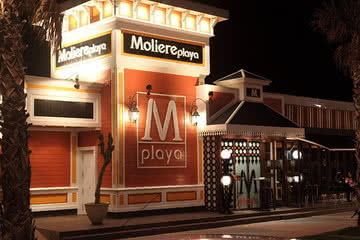 Moliere Playa, Beachclub